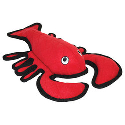 Larry Lobster Tuffys Squeaker Dog Toy