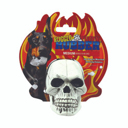 Tuffy's Rugged Rubber Skull Dog Toy