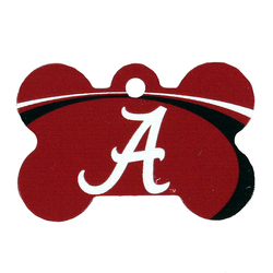 Alabama Crimson Tide Engraved Pet ID Tag