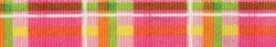 Madras Pink Coupler Dog Leash