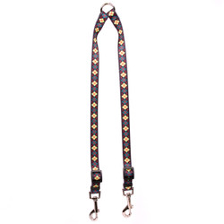 Green Argyle Coupler Dog Leash