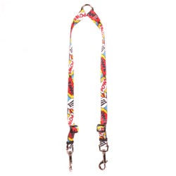 Comic Print Coupler Dog Leash