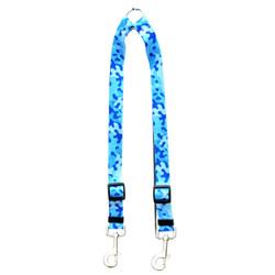 Camo Blue Coupler Dog Leash