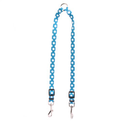 Blueberry Polka Dot Coupler Dog Leash