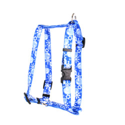 "Winter Wonderland Roman Style ""H"" Dog Harness"