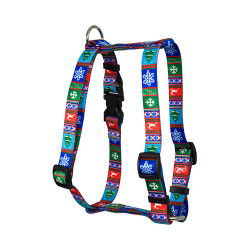 "Alpine Roman Style ""H"" Dog Harness"