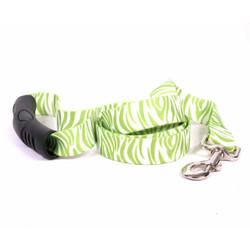 Zebra Green EZ-Grip Dog Leash