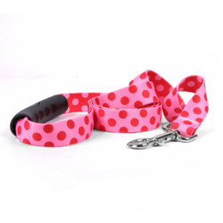Valentine Polka Dot EZ-Grip Dog Leash