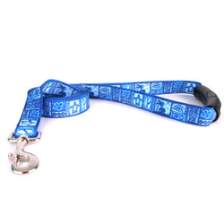 Tiki Blue EZ-Grip Dog Leash