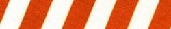 Team Spirit Rust and White EZ-Grip Dog Leash