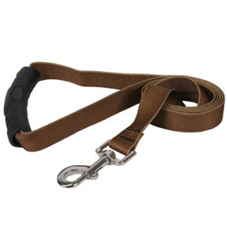 Solid Brown EZ-Grip Dog Leash
