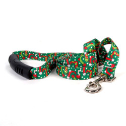 Christmas Stockings EZ-Grip Dog Leash