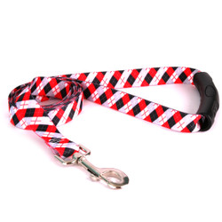 Black Argyle EZ-Grip Dog Leash
