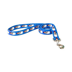 Snowman Print Dog Leash