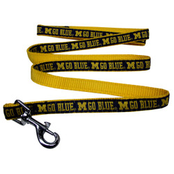 Michigan Wolverines Dog Leash