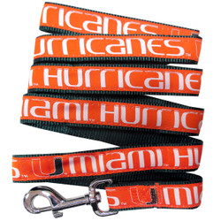 Miami Hurricanes Dog Leash