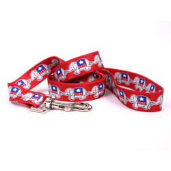 GOP Elephants Dog Leash