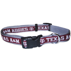 Texas A&M Dog Collar