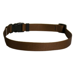 Solid Brown Dog Collar