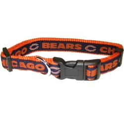 Chicago Bears Dog Collar