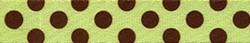 Green and Brown Polka Dot Waist Walker