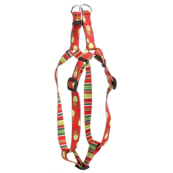 Holiday Paisley Step-In Dog Harness