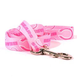 Chicago Bears PINK Dog Leash