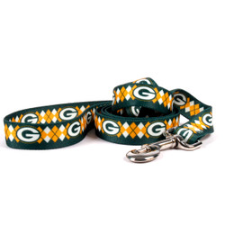 Green Bay Packers Argyle Dog Leash