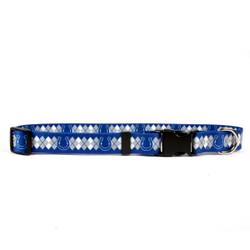 Indianapolis Colts Argyle Dog Collar