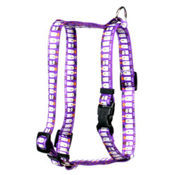 "Ghost Party Roman Style ""H"" Dog Harness"