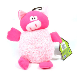 Big Belly Plush Pig Squeaker Dog Toy