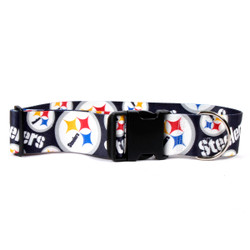 Pittsburgh Steelers 2 Inch Wide Dog Collar