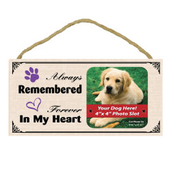 Always In My Heart Wood Sign