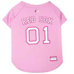 Boston Red Sox PINK MLB Pet Jersey
