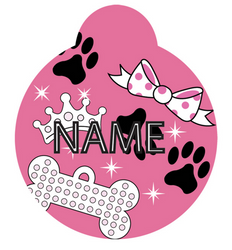 Diva Dog HD Pet ID Tag