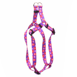 Valentines Owls Step-In Dog Harness