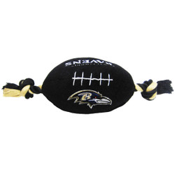 Baltimore Ravens NFL Squeaker Football Toy