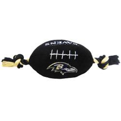 Baltimore Ravens NFL Squeaker Football Toy
