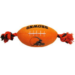 Cleveland Browns NFL Squeaker Football Toy