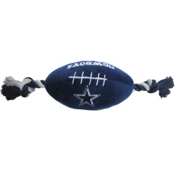 Dallas Cowboys NFL Squeaker Football Toy