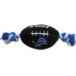 Detroit Lions NFL Squeaker Football Toy