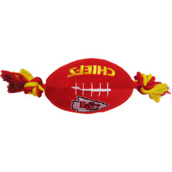 Kansas City Chiefs NFL Squeaker Football Toy