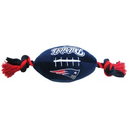 New England Patriots NFL Squeaker Football Toy
