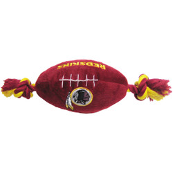 Washington Redskins NFL Squeaker Football Toy