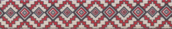 Aztec Red Waist Walker