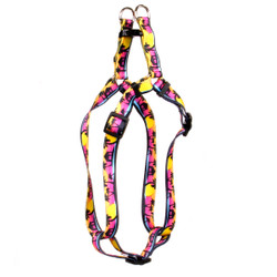 Palm Tree Island Step-In Dog Harness