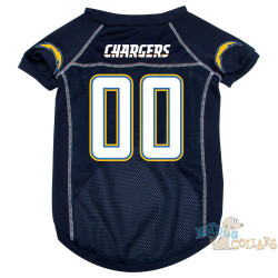 San Diego Chargers PREMIUM NFL Football Pet Jersey