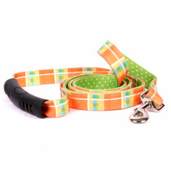 Madras Orange Uptown Dog Leash