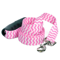 Chevron - Watermelon EZ-Grip Dog Leash