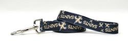 New Orleans Saints Logo Dog Leash